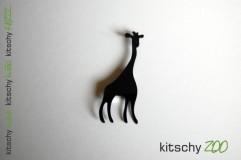 BROSKA Zirafa . BROOCH Giraffe