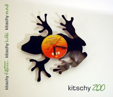 STENSKA URA Žabica . WALL CLOCK Froggy