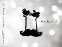 VERIZICA Brki Poirot . NECKLACE Mustache Poirot
