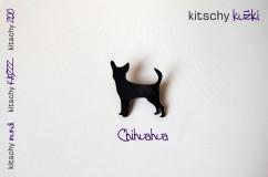 BROSKA Chihuahua . BROOCH Chihuahua