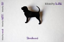 BROSKA Bloodhound . BROOCH Bloodhound
