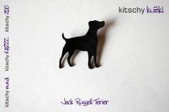 BROSKA Jack russell terier . BROOCH Jack Russell Terrier