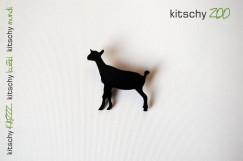 BROSKA Koza . BROOCH Goat