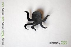 BROSKA Hobotnica . BROOCH Octopus