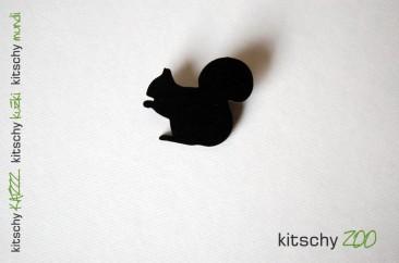 BROSKA Veverica . BROOCH Squirrel