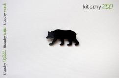 BROSKA Medved . BROOCH Bear