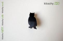 BROSKA Sovica . BROOCH Owl