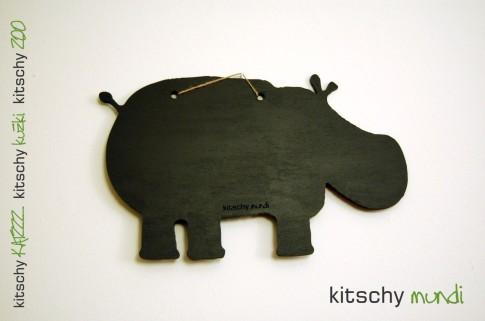 TABLA Povodni Konj . MEMORY BOARD Hippopotamus