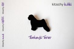 BROSKA Tibetanski Terier . BROOCH Tibetan Terrier