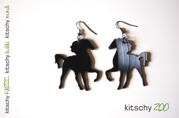 KITSCHY konj uhani
